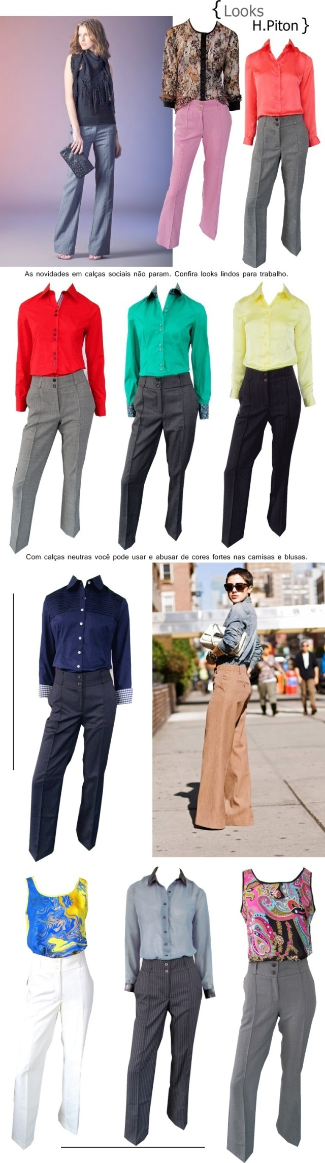 calças sociais